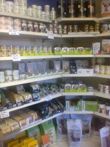 Bilder vom Laden in der Lohwaldstraße 45